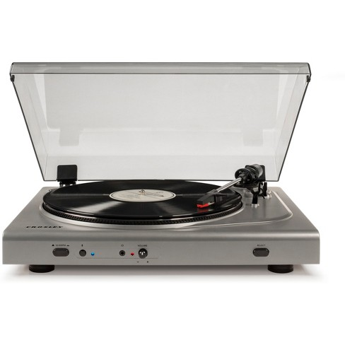 Crosley T300A Turntable - Silver - image 1 of 4