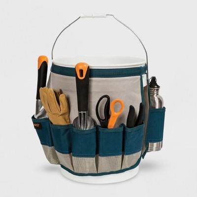 Fiskars Carry & Organize Bucket Tool Green