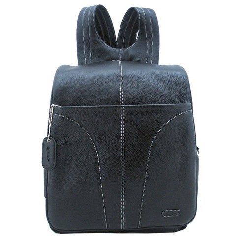 "Leatherbay 15"" Leather Laptop Backpack - image 1 of 2"