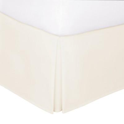 Ivory Tailored 14  Bed Skirt King - Levinsohn