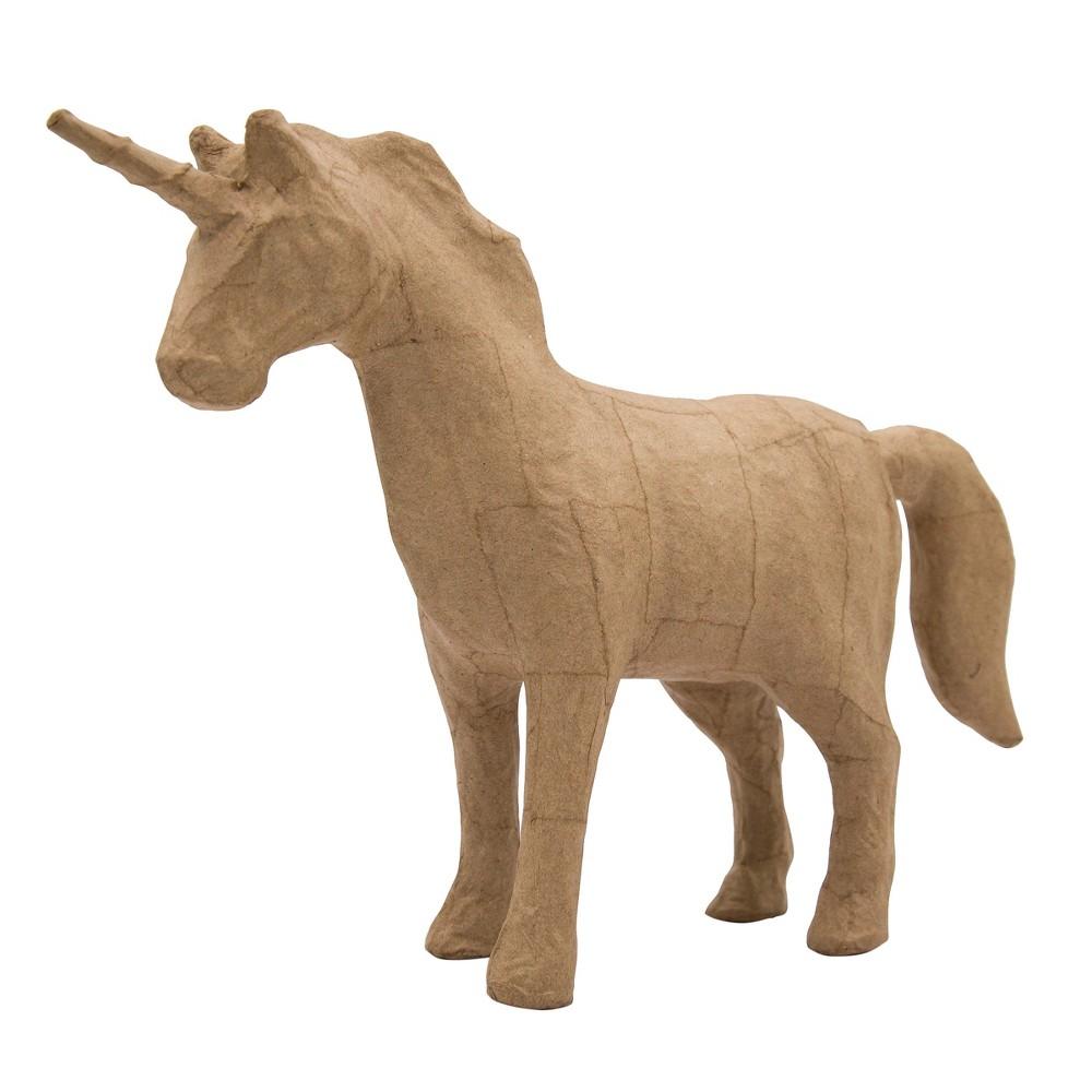 Kid Made Modern Unicorn Figurine - Kraft, Brown