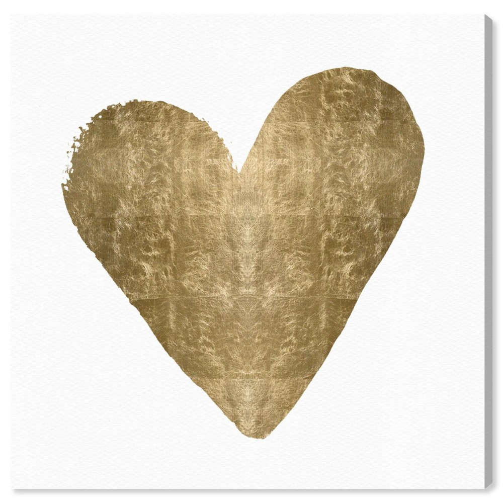"Image of ""Oliver Gal Unframed Wall """"Heart"""" Canvas Art (20x20)"""