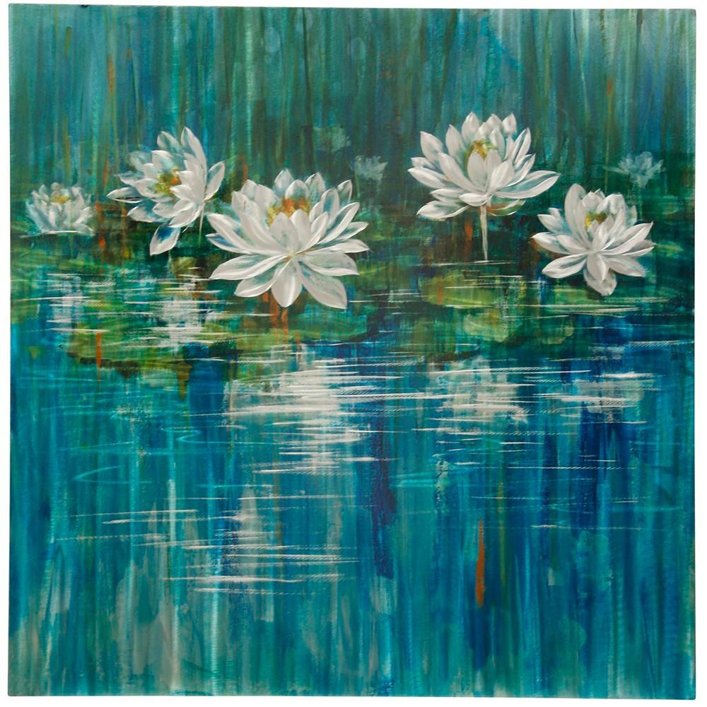 40 Botanical Lilies Alternative Transitional Floral Decorative Wall Art - StyleCraft, Multi-Colored
