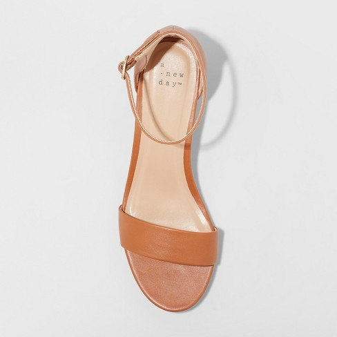 2535029c7b63 Women s Wilda Strappy Sliver Ankle Strap Wedge Sandals - A New Day™. Shop  all A New Day