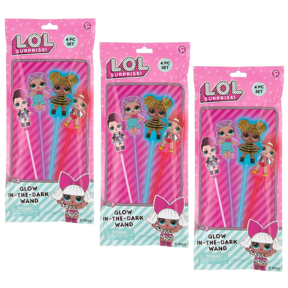 Image of L.O.L. Surprise! 12pc Glow In-The-Dark Wands