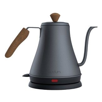 3cup Meloir Electric Pour Over Kettle Gray/Black - Bodum