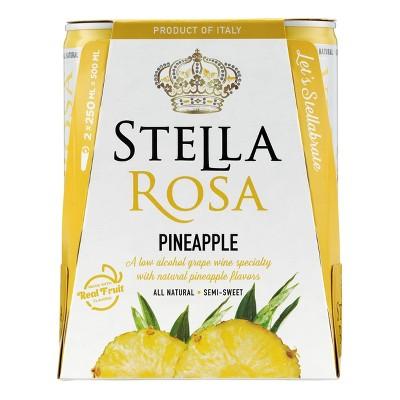 Stella Rosa Pineapple Wine - 2pk/250ml Cans