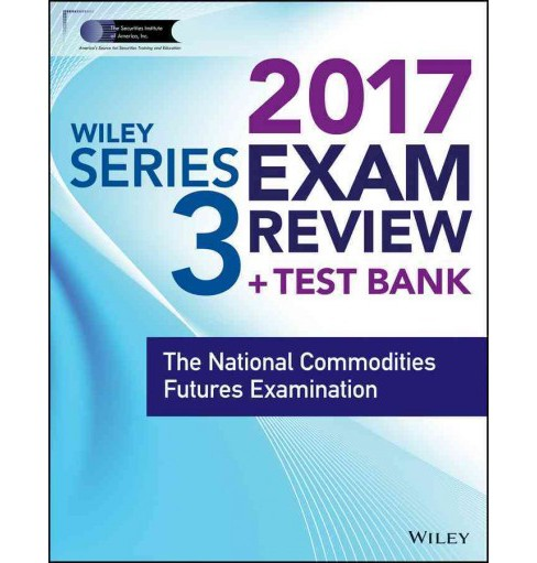 Wiley Series 3 Exam Review 2017 (Paperback) - image 1 of 1