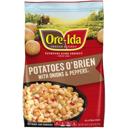 Ore-Ida Potatoes O'Brien with Frozen Onions and Peppers - 28oz - image 1 of 3