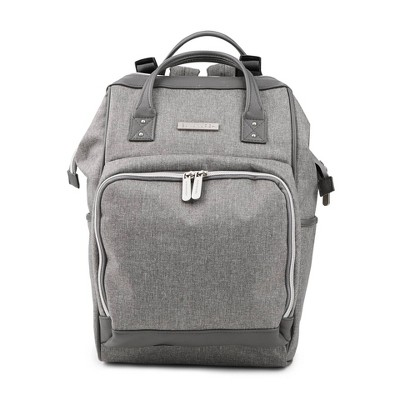 Bananafish Diaper Bag Solid - Light Gray Heather