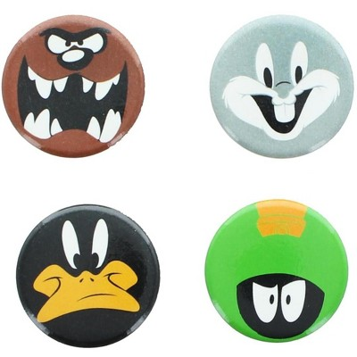 Crowded Coop, LLC Looney Tunes Magnets 4-Pack