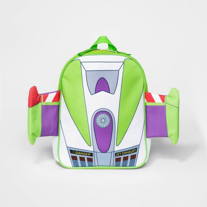Toddler Boys' Toy Story Buzz Lightyear Space Ranger Backpack - White - image 1 of 2