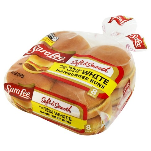 Sara Lee Soft & Smooth Hamburger Buns - 8ct/14oz - image 1 of 1