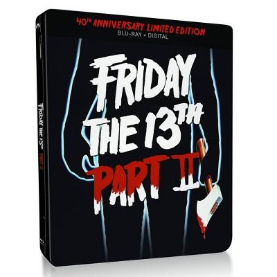 Friday the 13th Part 2 (40th Anniversary SteelBook)(Blu-ray + Digital)