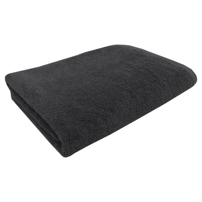 Solid Bath Towel Dark Gray - Room Essentials™