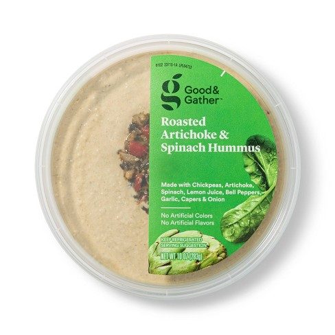 Roasted Artichoke and Spinach Hummus - 10oz - Good & Gather™ - image 1 of 3