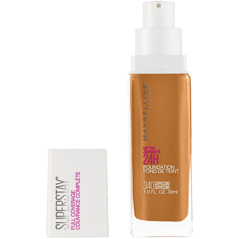 Image of Maybelline 24hr Foundation 340 Cappuccino - 1 fl oz