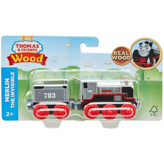 Fisher-Price Thomas & Friends Wood Merlin the Invisible Engine image number null