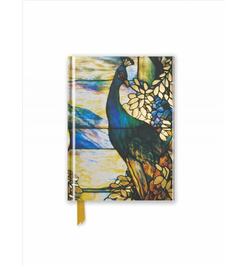 Tiffany : Standing Peacock - Foiled Pocket Journal (New) (Hardcover) - image 1 of 1
