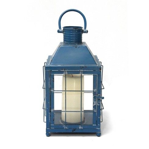 Lighthouse Lantern Blue - Stratton Home Decor - image 1 of 4