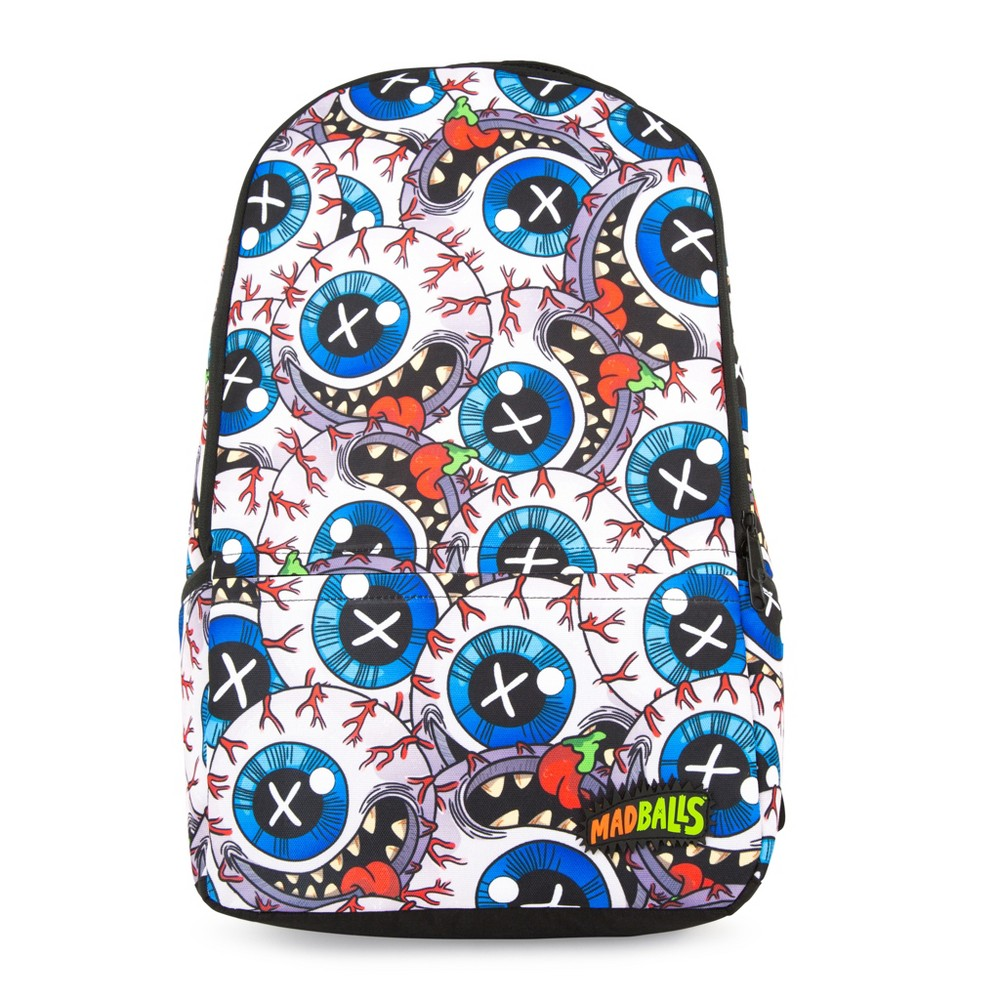 "Image of ""Madballs 11.5"""" Sublimation Backpack, MultiColored"""