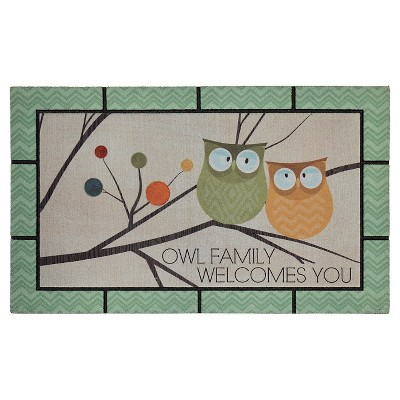 Mohawk Flying Color Owl Doormat (1'6 x2'6 )