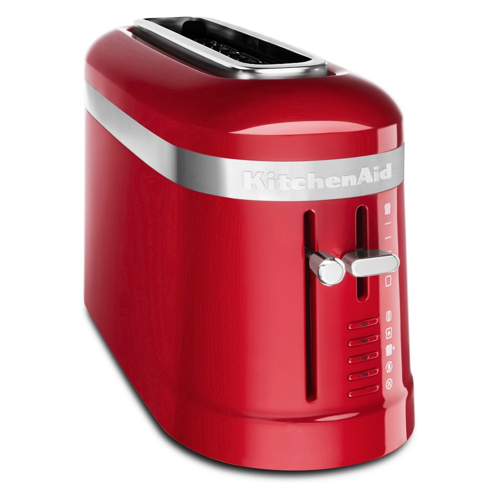 KitchenAid 2 Slice Long Slot Toaster Empire Red – KMT3115ER 53751795