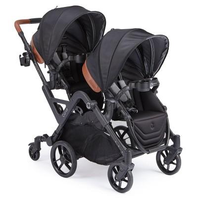Contours Curve Double Stroller - Black