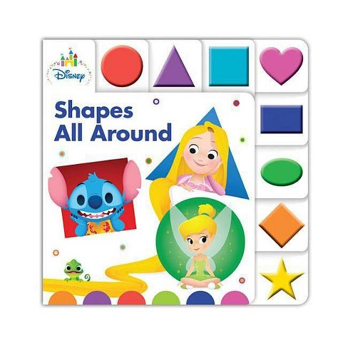Disney Baby Shapes All Around - (Board_book) - image 1 of 1