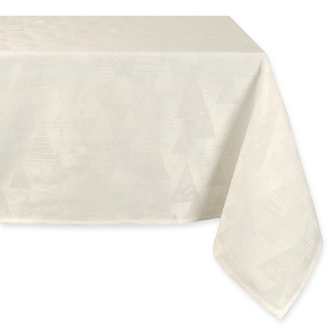 "White Tablecloth (60""x60"") - Design Imports - image 1 of 1"