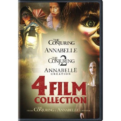 The Conjuring / Annabelle 4-Film Collection (DVD)(2018)