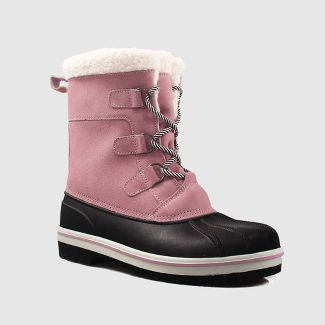 Girls' Rolane Winter Boots - Cat & Jack™ Pink 3