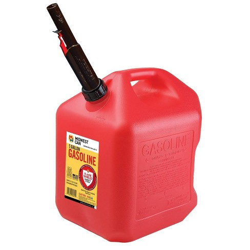 Midwest Can 5gal Gas Can Red Midwest Can - image 1 of 1