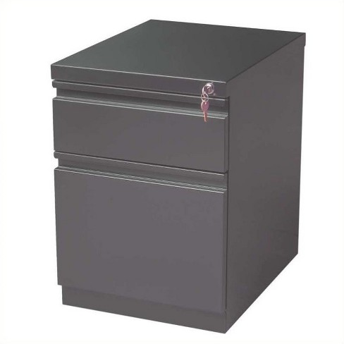 Steel 2 Drawer Mobile File Cabinet In, File Cabinet 2 Drawer Metal