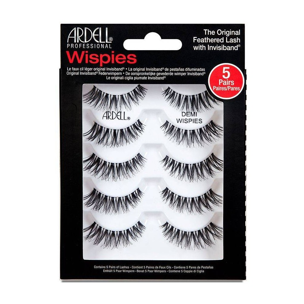Image of Ardell Eyelash Demi Wispies Black - 5ct