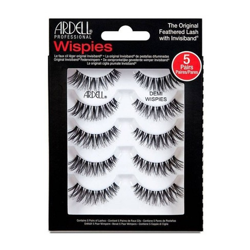 Ardell Eyelash Demi Wispies Black - 5ct - image 1 of 3