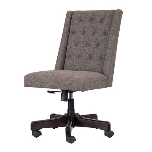 Program Home Office Swivel Desk Chair Gray Signature Design By Ashley Target
