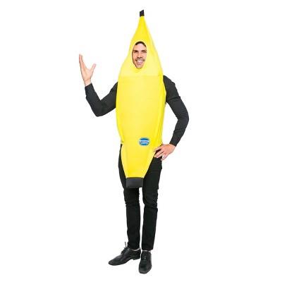 Adult Banana Halloween Costume XL