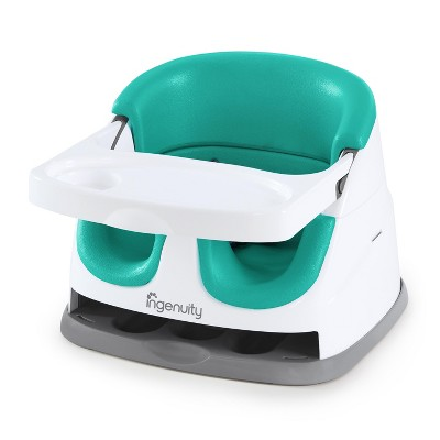 Ingenuity Baby Base 2-in-1 Booster Feeding Seat - Ultramarine Green