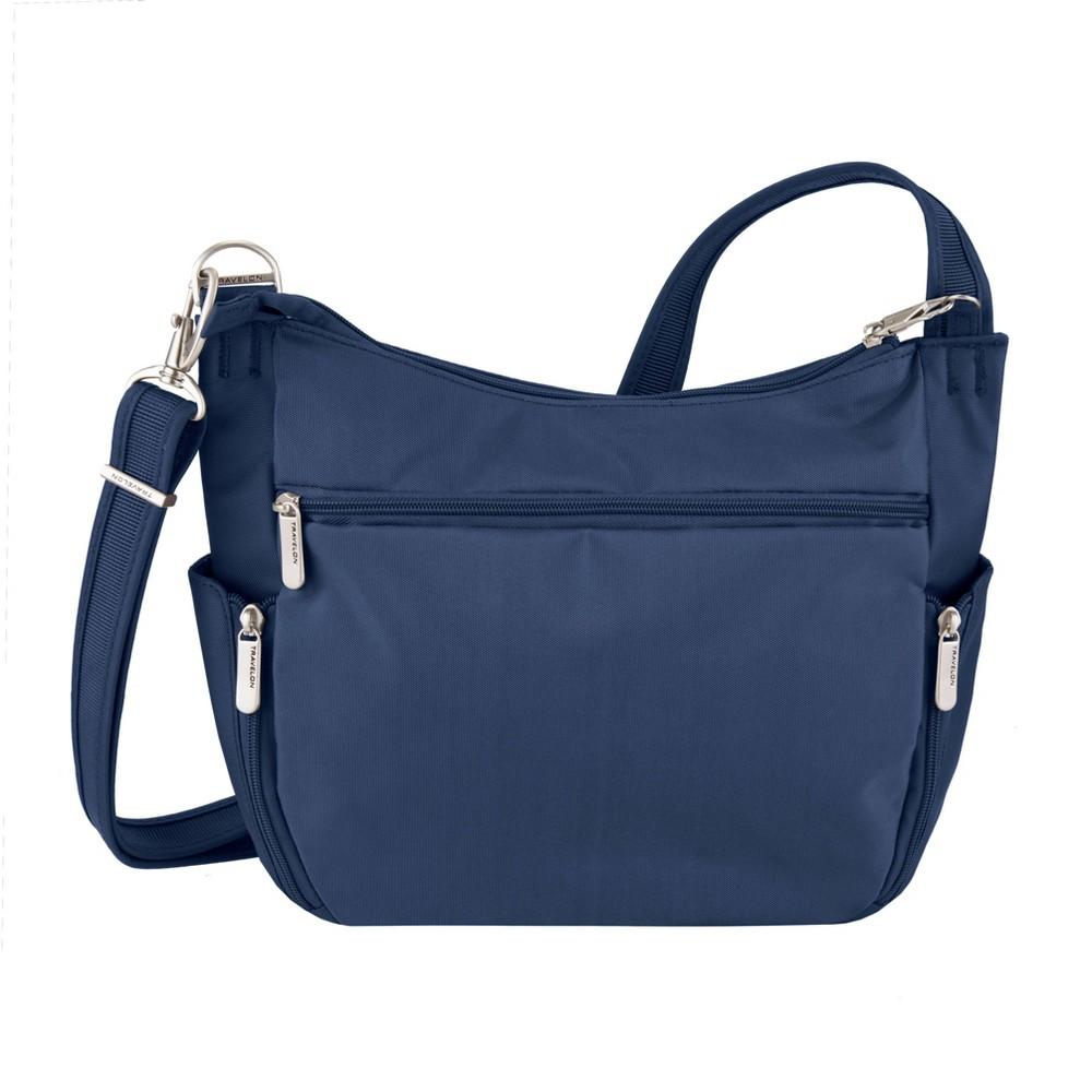 Travelon Rfid Anti Theft Essential Messenger Bag Midnight Blue