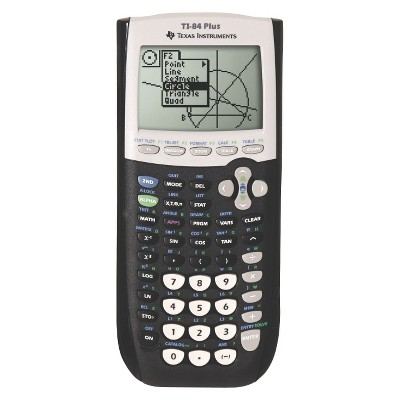 Texas Instruments Graphing Calculator - Black (TI-84+)