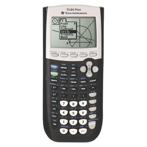 Texas Instruments Graphing Calculator - Black (TI-84+) - image 1 of 2