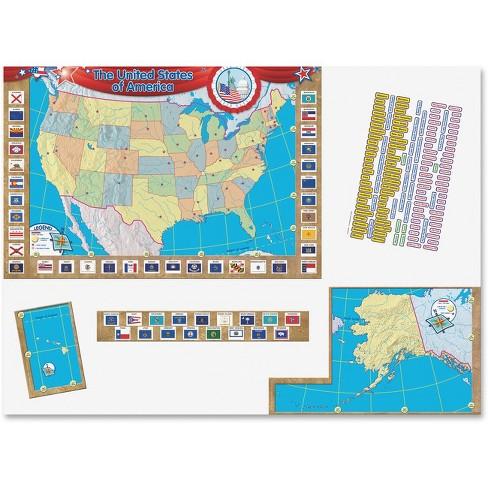 Teacher Created Resources US Map Bulletin Board Display - 36\