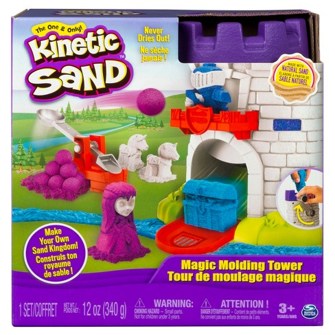 Kinetic Sand - Magic Molding Tower with 12oz of Kinetic Sand - image 1 of 4