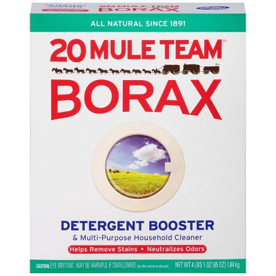 Mule Team Borax All Natural Detergent Booster & Multi-Purpose Household Cleaner - 65oz