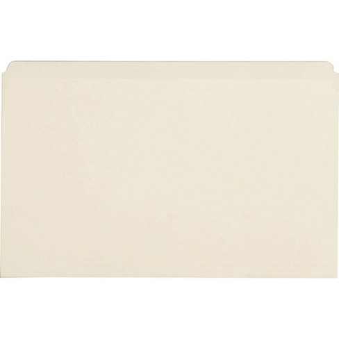 Business Source 100ct Straight Cut 1-Ply Legal-Size File Folder - Tan - image 1 of 1