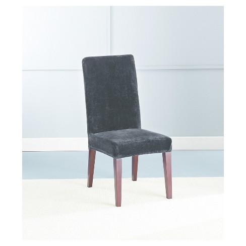 Stretch Plush Short Dining Room Chair Slipcover Sure Fit Target