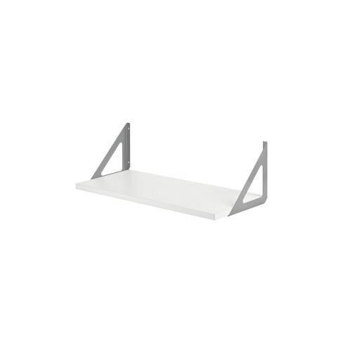 "32"" x 10"" Lite Shelf White - Dolle Shelving - image 1 of 4"