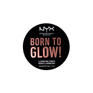 NYX Professional Makeup Born to Glow Illuminating Powder Ultra Light Beam - 0.18oz