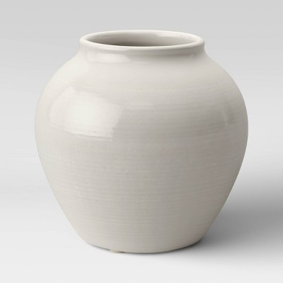 Ceramic Vase Ivory - Threshold™